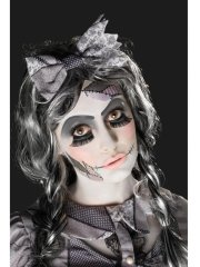 Kit de Maquillage, Tatouage et Faux cils Halloween Doll