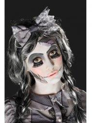 Kit de Maquillage, Tatouage et Faux cils Halloween Doll