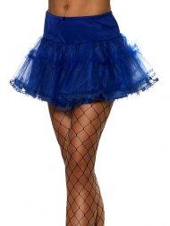 Tutu Jupon Sexy Bleu Electrique