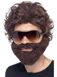 Set Perruque barbe et lunettes Alan VBT