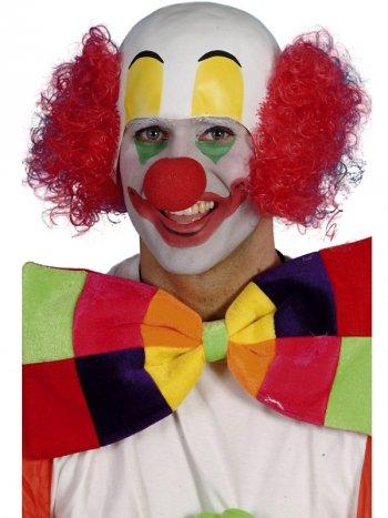 Perruque de clown caoutchouc