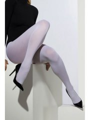 Collants Opaques Blanc