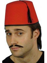 Chapeau Fez Rouge