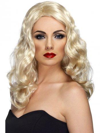 Perruque Reine du Glamour Blonde
