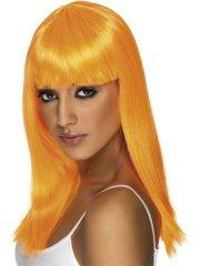 Perruque Glamourama orange