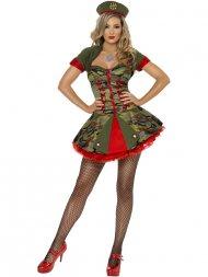 Déguisement Miss Militaire Special Forces