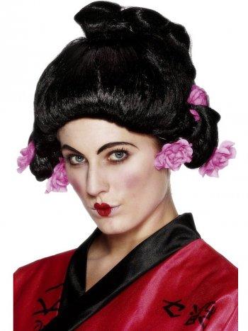 Perruque de jeune Geisha