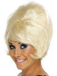 Perruque 60's Choucroute Blonde