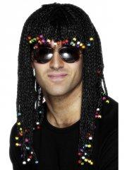 Perruque Tressée à Perles