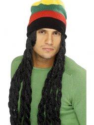 Bonnet Rasta Jamaïque Longues Dreads