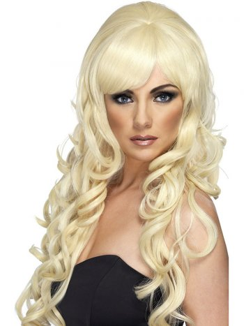 Perruque Pop Starlet Blonde