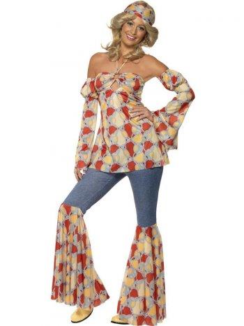 Déguisement 70 s de Hippie Disco Femme