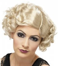 Perruque 20's Charleston Blonde