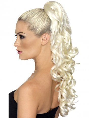 Extension Queue Haute Blonde Bouclée