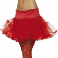 Tutu Jupon Sexy Rouge