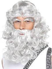 Set Zeus Perruque barbe sourcils