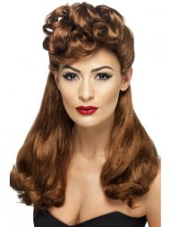 Perruque Pin Up Vintage Long