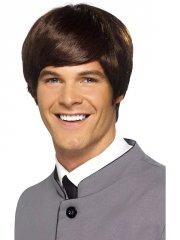 Perruque Homme Cheveux Courts 60's
