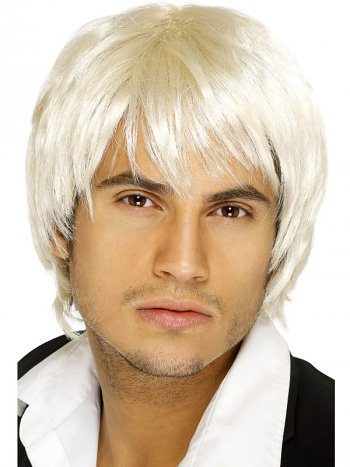 Perruque Boys Band blond
