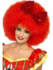 Perruque de clown afro géante