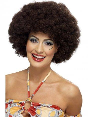 Perruque Afro Brune femme 70 s