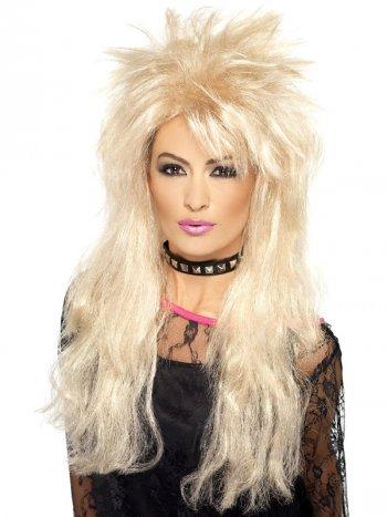 Perruque Pop Rock 80 s Kim