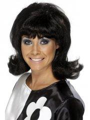 Perruque Sixties Lady Noire