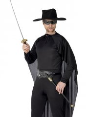 Kit épée et masque Zorro pour 2