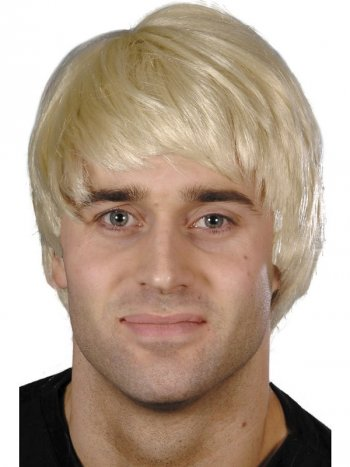 Perruque pour Homme Blonde Courte