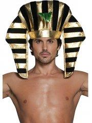 Coiffe de Pharaon Noir/Or