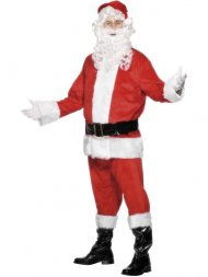 Déguisement de Père Noël Luxe Pantalon et Veste