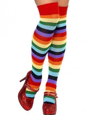 Chaussettes montantes de clown