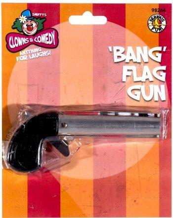 Pistolet bang à drapeau