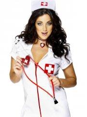 Stéthoscope d'Infirmière avec Coeur
