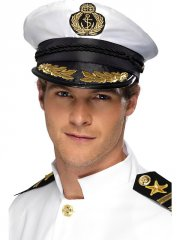 Képi blanc de Capitaine de la Marine