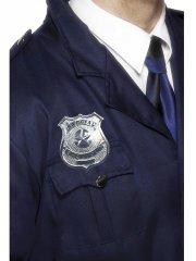 Insigne de Police argenté