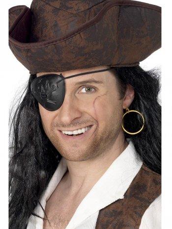 Cache-oeil et Boucle d Oreille Pirate