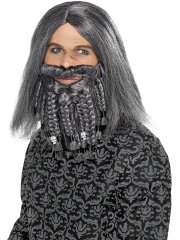 Perruque et barbe Pirate Terreur des Mers