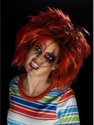 Kit Maquillage et Tatouages Chucky - Mixte