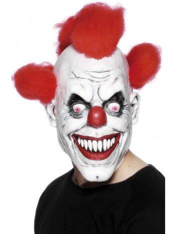 Masque intégral de clown maléfique