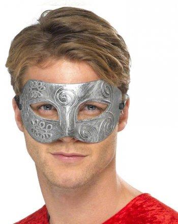 Masque Loup Métallisé