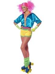Déguisement 80's Roller Girl