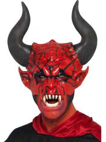 Masque mi-visage Seigneur Diabolique