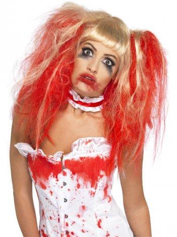 Perruque Halloween Bloody Blonde