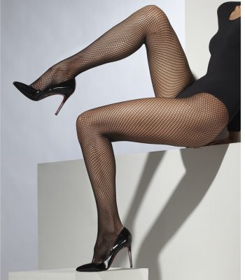 Collants Résilles fines Noirs