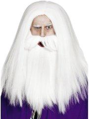 Set Perruque et Barbe de Druide