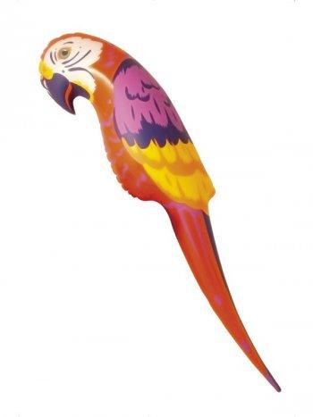 Perroquet gonflable XL - 116 cm