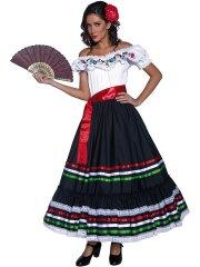 Déguisement de Senorita Mexicaine