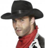 Chapeau Western Cowboy Noir