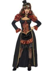 Déguisement de Vampiresse Victorienne Steampunk